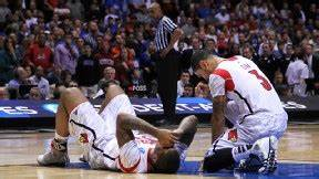 2013 NCAA tournament -- Kevin Ware of Louisville Cardinals ...