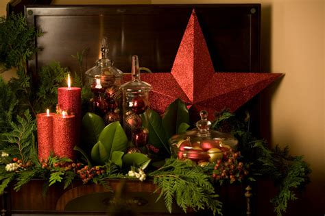 elegant christmas decor eclectic portland  digs