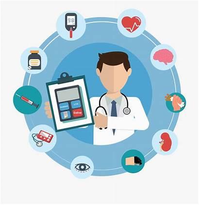 Health Clipart Healthcare Cartoon Career Bedridden Benefits