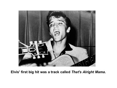 The Early Career Of Elvis