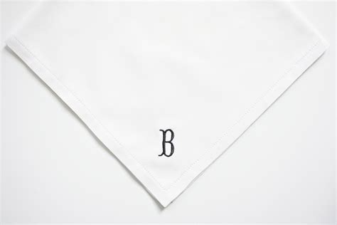 free shipping 3 mens monogrammed handkerchiefs script men 39 s monogrammed handkerchief finest linen or cotton