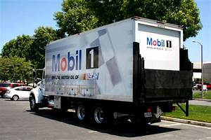 box truck wrap for mobil by iconography san pedro ca