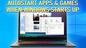 How To Autostart Applications When Your Power On Your