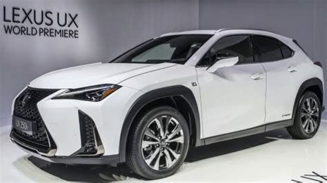 2019 Lexus Ux200 by 2019 Lexus Ux 200 And Ux 250h Details And Specs From