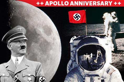 moon landing conspiracy nazi spacecraft beat nasa