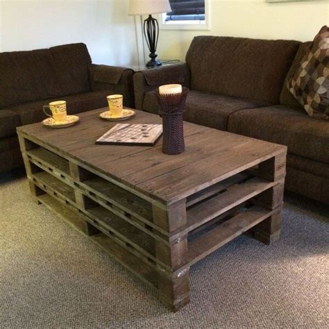 pallet wood coffee tables ideas pallets designs