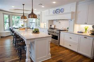 fixer upper a big fix for a house in the woods hgtv39s With kitchen colors with white cabinets with texas two step one sticker