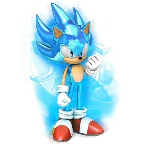 Sonic the Hedgehog Super Saiyan Blue