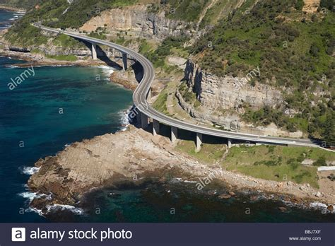 Sea Cliff Bridge Near Wollongong South Of Sydney New South