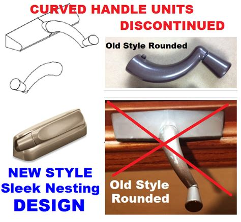 marvin casemaster style casement window crank handle rounded curved marvin window