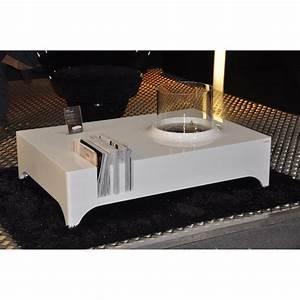 Ethanol Kamin Tisch : glammfire vulcanu bioethanol lounge tisch ~ Lizthompson.info Haus und Dekorationen