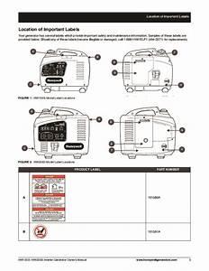 Honeywell Hw1000i Hw2000i Generator Owners Manual