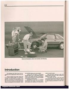 Haynes Ford Mustang 1979