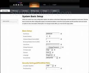 How To Change The Dns Settings On The Arris Tg852g