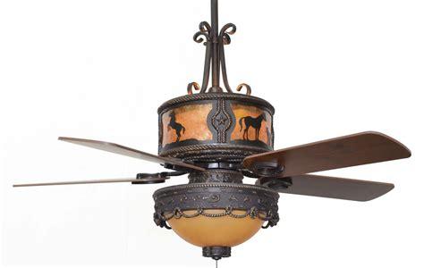 cc kvshr brz lk510 hs horses western ceiling fan
