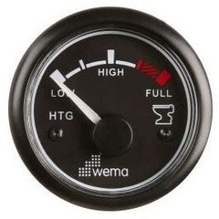 Wema Boat Gauges by Wema Waste Water Level Gauges Senders Marine