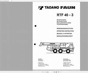 Tadano Mobile Crane Rtf40