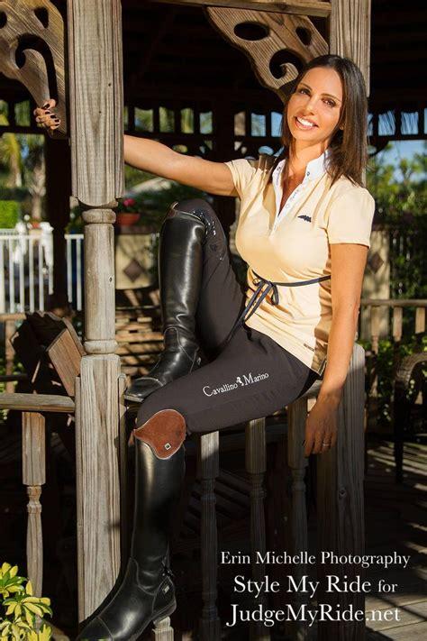 Jumper Rider Karina Rotenberg Of Monaco Models For Smr