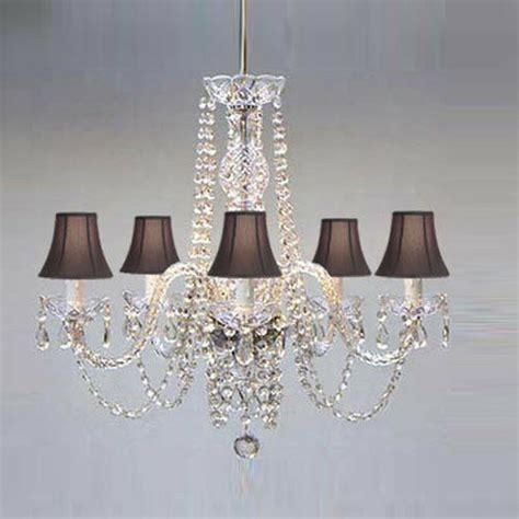 Chandelier Black Shade by Authentic All Chandelier With Black Shades Ebay
