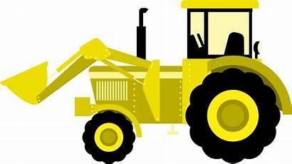 Tractor Clipart Svg Purple Machinery Equipment Deere