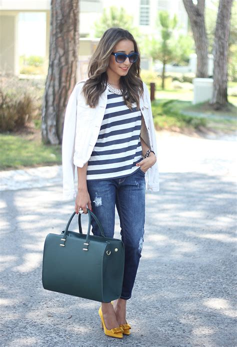 Stripes For Trendy Chic Look 20 Stylish Outfit Ideas