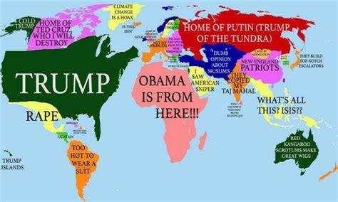 Trump Copypasta Template by Donald Trump S World Map Donald Trump Know Your Meme