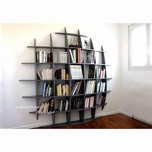 Bibliothèque Murale Bois : biblioth que murale retento ronde gm mithka design ~ Premium-room.com Idées de Décoration
