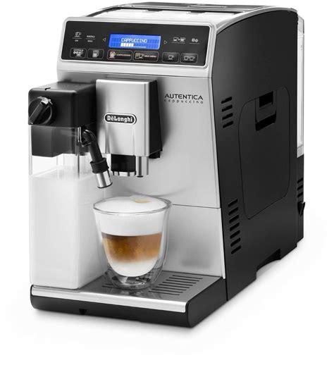 siege etam delonghi etam 29 660 sb autentica cappuccino