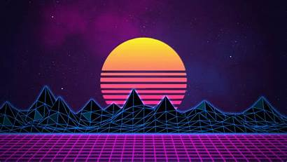 Neon Purple Backgrounds 4k Background 80s Synthwave