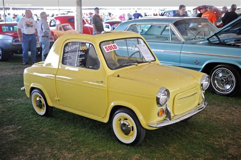 Vespa 400 Car For Sale by Auction Results And Data For 1960 Vespa 400 Conceptcarz