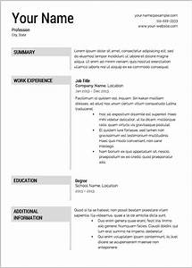 Free resume builder best resume resume examples for Free resume maker and download