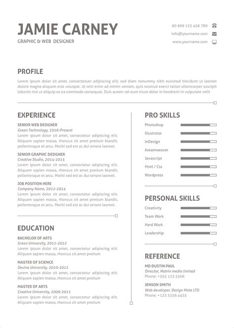 Resume Layout by Free Simple Resume Layout Template And Cover