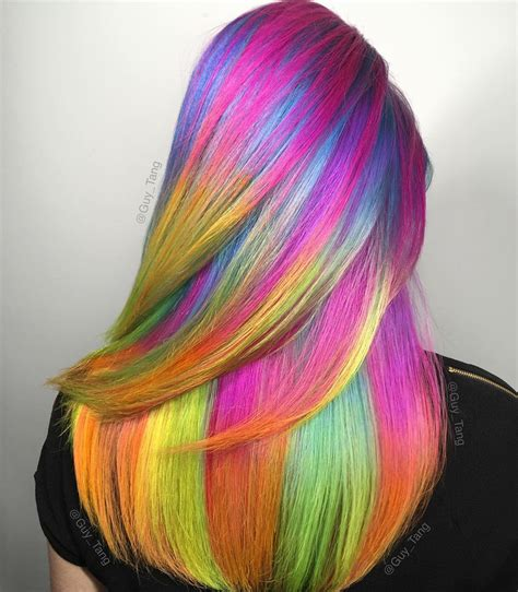 Rainbow Unicorn Hair Fashion Hair Colors Hair Dyed