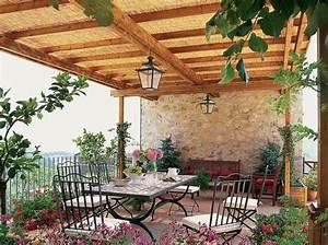 terrassen bilder With markise balkon mit rasch tapeten en fleurs