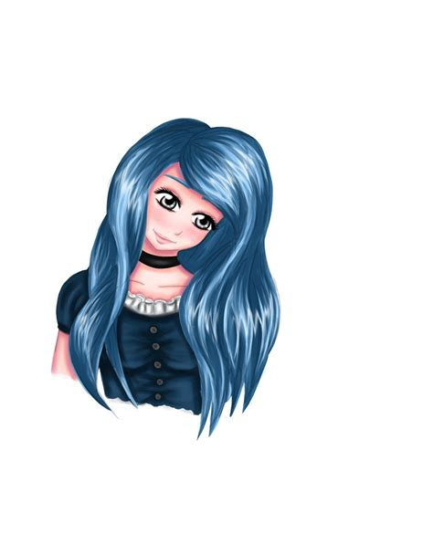 Blue Hair Name by Oc Blue Hair Without Name By Xx Moe Xx On Deviantart