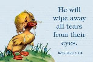 free printable christian message cards he will wipe away all tears from their free