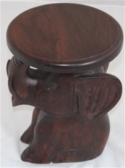 hand carved end tables solid mango wood hand carved elephant side table asian