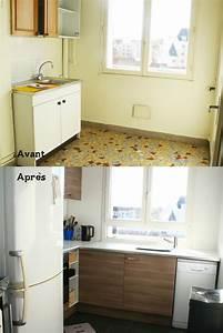 Cuisine Avant Après : notre petit chez nous ma petite cuisine avant apr s ~ Voncanada.com Idées de Décoration