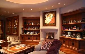 Upscale Living Room – Home Design Examples