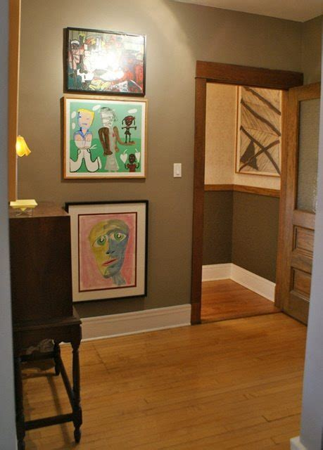 best wall colors for stained trim kelly bernier designs