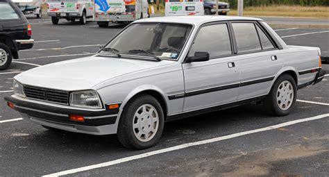 Peugeot 505 Turbo by File 1987 Peugeot 505 Turbo S Left Front Us Jpg