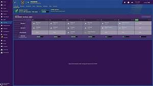 Training In Football Manager 2018