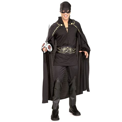 zorro costume costumes halloween adult bandit mens dress mask adults cape outfit hero shirt mexican fancy masked party spanish ru