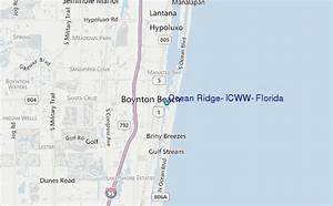 Ocean Ridge  Icww  Florida Tide Station Location Guide