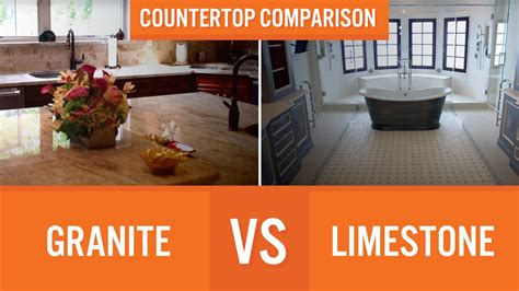 Vs Granite by Granite Vs Limestone Countertop Comparison