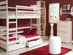 Hochbett Mit Zwei Betten : etagenbett wei mit leiter echtholz hochbett f r kinder 4 ~ Whattoseeinmadrid.com Haus und Dekorationen