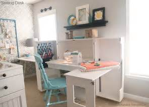 Sewing Room Cabinets by Sewing Desk On Pinterest Sewing Room Furniture Sewing