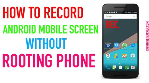 how to on android phone without the phone how to record android mobile screen without rooting phone