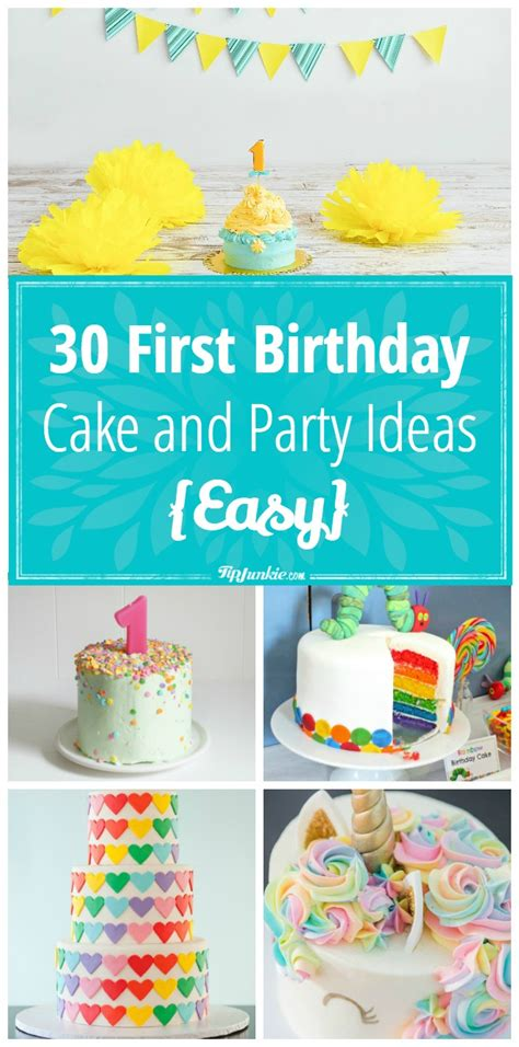 birthday party ideas 1st birthday party ideas 30 birthday cake and party ideas easy tip junkie