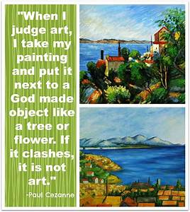 Paul Cezanne - ... Contemporary Impressionists Quotes